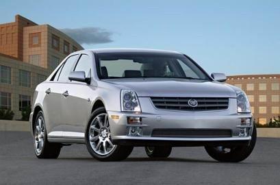 汽车世界 通用汽车 将在4月展出新款轿车凯迪拉克sts高清图片