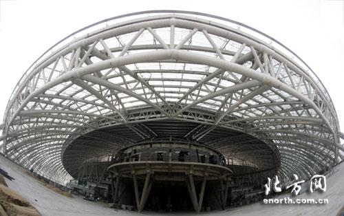 9月迎接女足世界杯 天津奥体中心建设全冲刺-