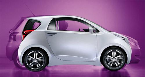 丰田iq小车全球正在洗牌微型车 高清图片