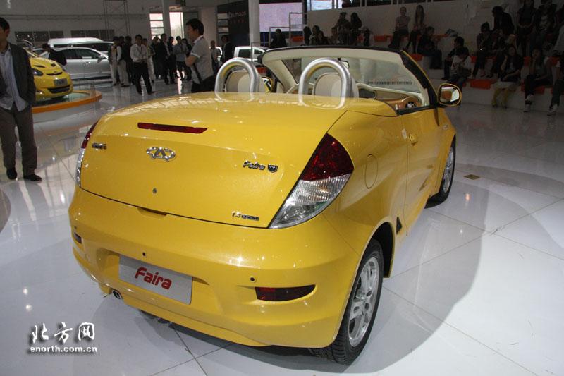 2008北京车展展车提前看 奇瑞五娃系列 北京车展, 北方网 高清图片
