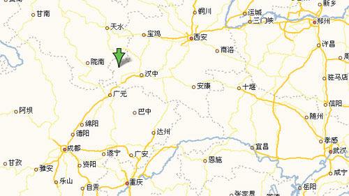 陕西略阳通告要求群众撤离 近万人已离开