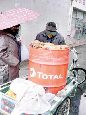 回收废油桶『改装』烤桶