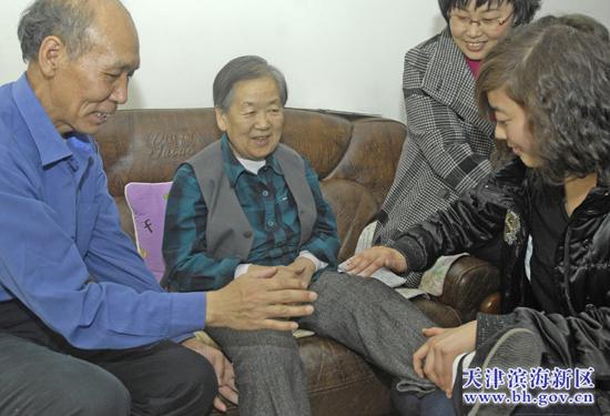北方网 新闻中心 滨海新区 正文    当记者来到张桂芬老人家里时,老人