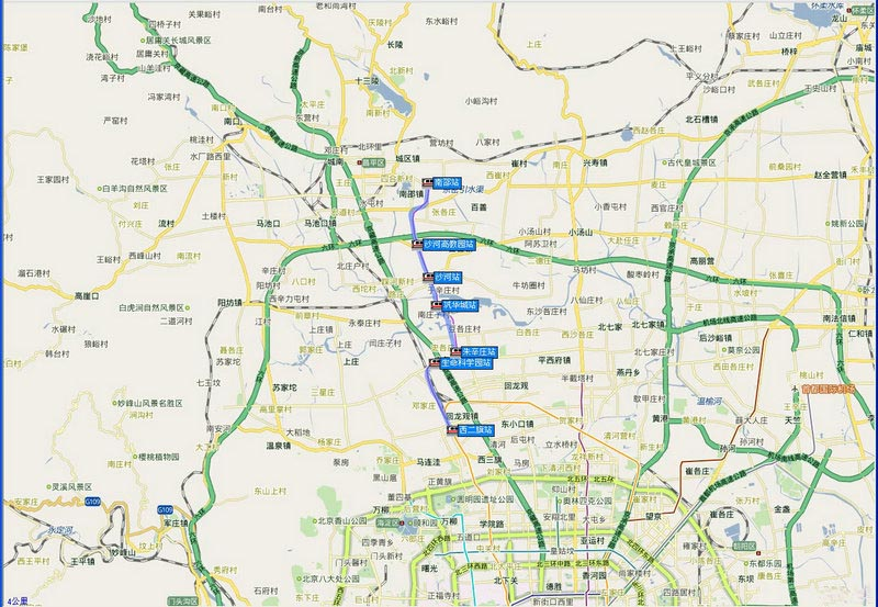亦庄线和大兴线,总长度达108公里.上述地铁线路全部开通后,北图片