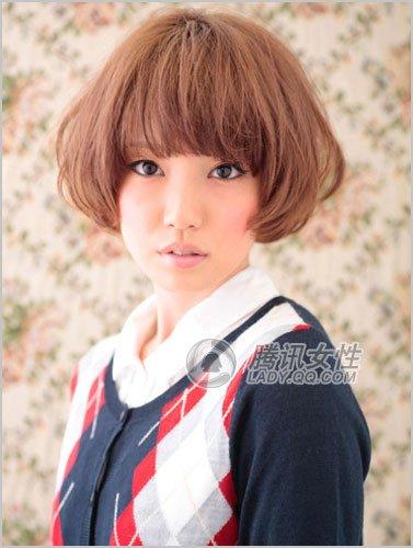 学院派蘑菇发型