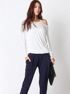 立体剪裁的裤子-入秋窄脚裤上身 改变大象腿狂显瘦