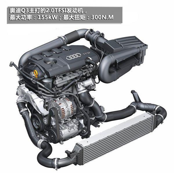奥迪q3现身环保目录 有望在北京车展上市 发动