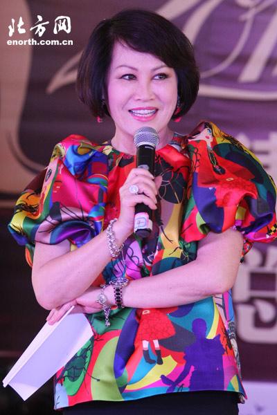 环球小姐天津区总决赛 靳羽西 选美是为国争光