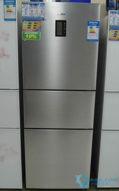 十八度宽幅变温 三星三门冰箱热销