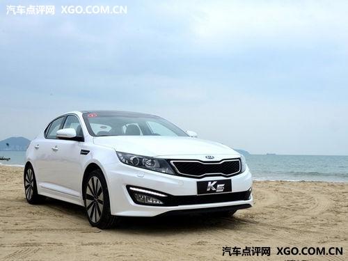 起亚k5外观前后   韩系车辆当中,自然少不了东风悦达起亚k5高清图片