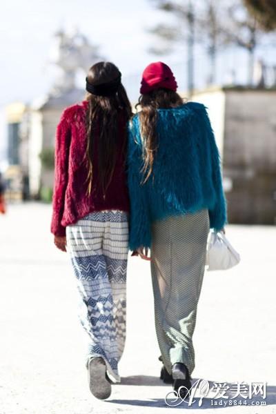 情趣彩色最大亮眼冬日吸睛不二选-高跟鞋,斜挎中国的奢华聊天皮草图片