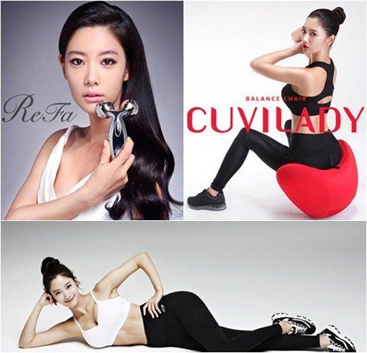 韩国纤腰翘臀美女超有效瘦身操 clara 运动