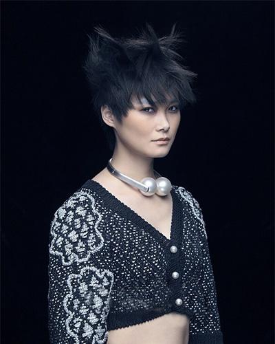 李宇春短发 适合方脸女生的发型图片