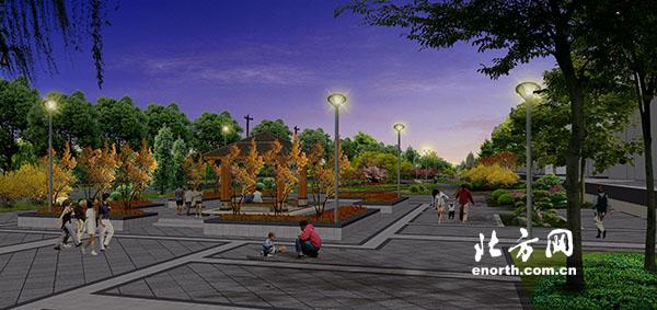 王稳庄体育公园效果图-民心工程惠民生西青区新建三座体育公园