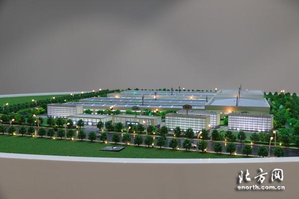 地区首个新能源大型客车生产基地,填补天津地区大客车整车制高清图片