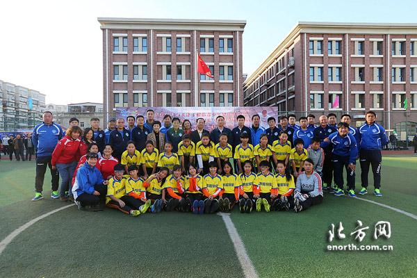 于根伟足球俱乐部牵手河东区 将共建学校足球