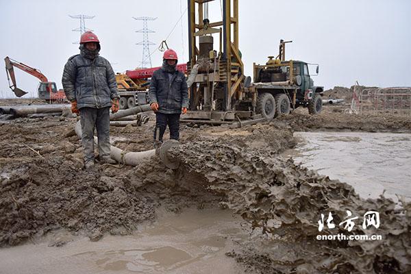 高压线路基础施工