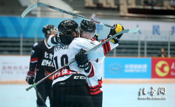 全运轮滑冰球落幕 黑龙江胜北京夺得男子组金牌