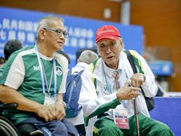 澳門代表團團長菲能地:我除了殘疾人事業沒有任何嗜好