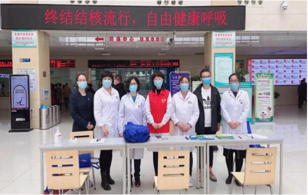 西青醫院聯合區疾控結防所開展結核病義診活動